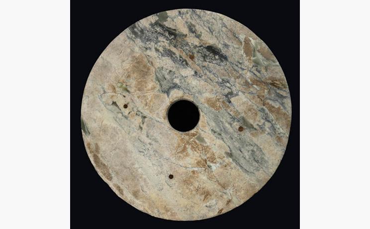 Bi Disk Pale Jade