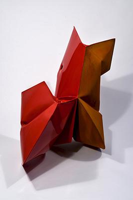 sinopec red art feature in phoenix gallery